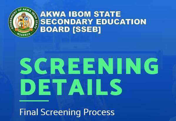 Akwa Ibom SSEB 2021 Teachers Shortlisted Names Released