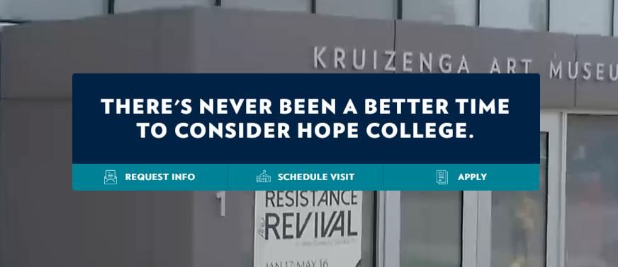 Apply for Hope College International Scholarship Program 2021