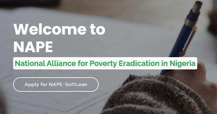 NAPE SoftLoan Application 2021 - Get Up to N500,000